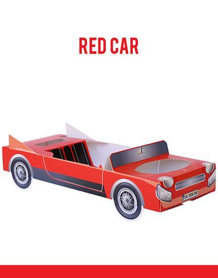 מכונית הגשה ליום הולדת, תלת מימד