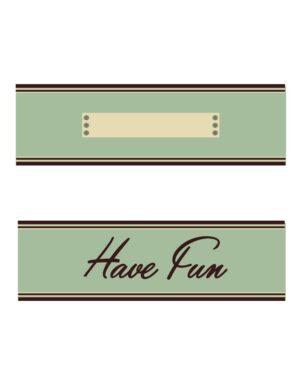 כרטיסי רישום למזון ואורחים