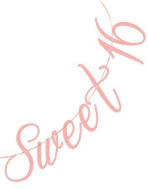 שרשרת sweet 16 | גרלנדת סוויט 16