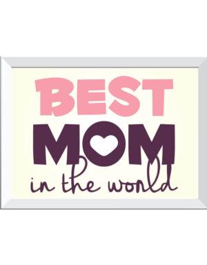 פוסטר האמא הכי טובה בעולם