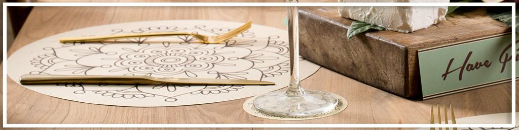 פלייסמנטים עיצוב שולחן