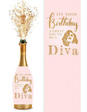 מדבקות לבקבוקי שמפניה | דיוות יום הולדת