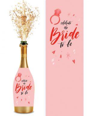 מדבקות לבקבוקי שמפניה | ברייד טו בי