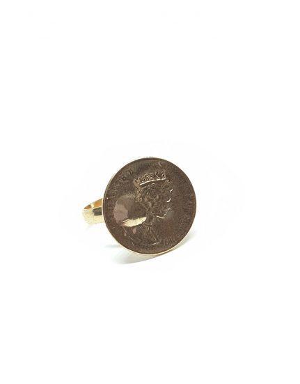טבעת מטבע וינטאז׳
