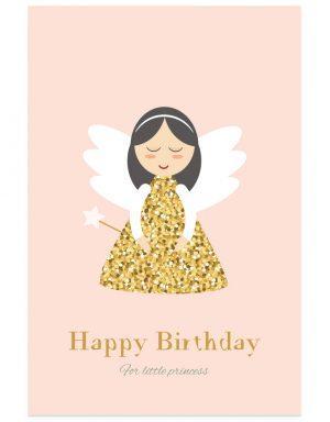 כרטיס ברכה פיית יום הולדת
