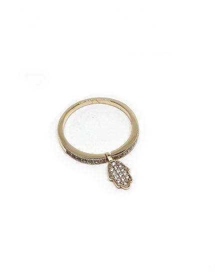 טבעת בציפוי זהב, חמסה תלויה