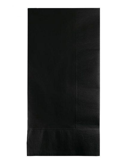 מפיות דינר בגוון שחור