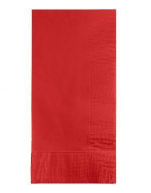 מפיות דינר בגוון אדום אש
