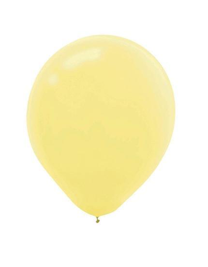 בלון ליום הולדת צהוב בננה - לטקס