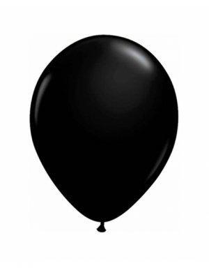 בלון ליום הולדת שחור מט - לטקס