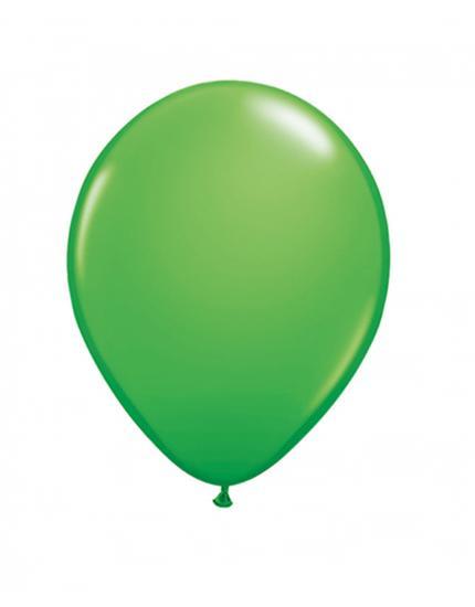 בלונים בצבעי ירוק