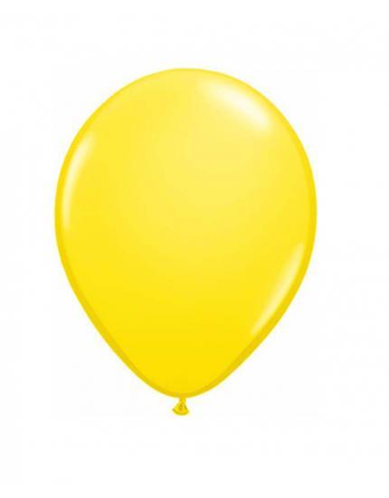 בלון ליום הולדת צהוב שמש - לטקס
