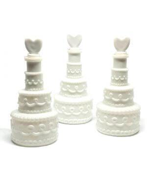 בועות סבון למסיבת רווקות או חתונה בעיצוב עוגת חתונה