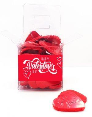 מארז שוקולדים לוולנטיין לבבות מתוקים