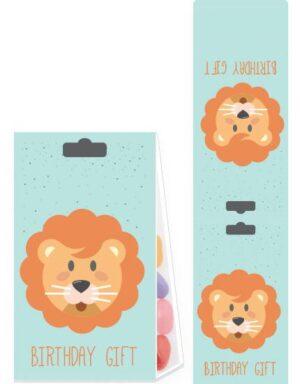 מארזי הפתעה ליום הולדת בקונספט חיות בעיצוב אריה