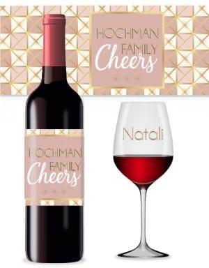 Briday_מדבקות ממותגות לבקבוקי יין