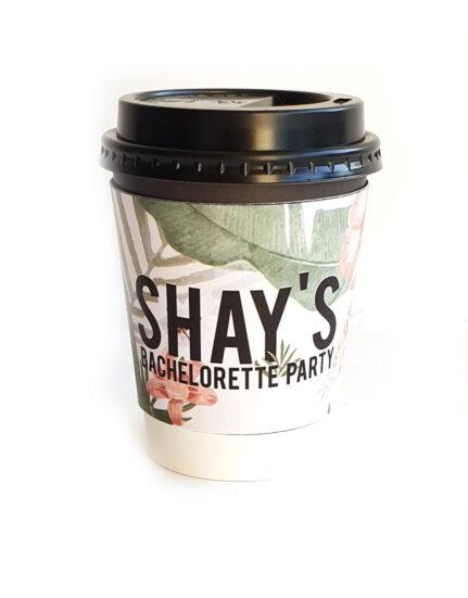 Briday_שרוול לכוס קפה ממותג אישית