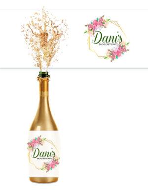 מדבקות ממותגות לבקבוקים