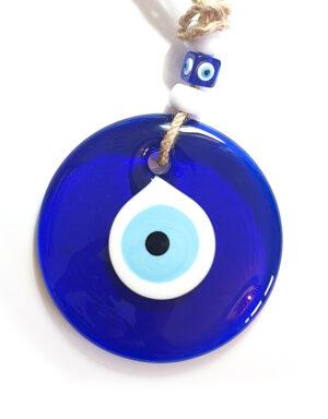 עין כחולה לאירוע בסגנון יווני
