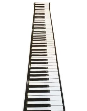 ראנר לאירוע דגם פסנתר
