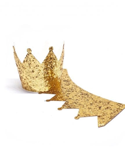 חבק לקאפקייק נצנצים זהב
