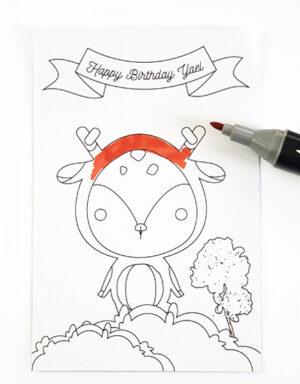 הפתעות יום הולדת חיות במיתוג אישי
