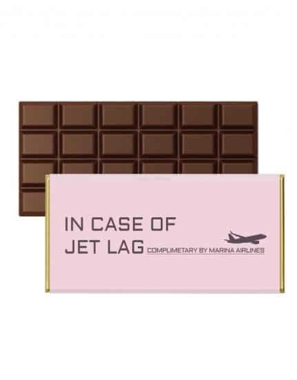עטיפות ממותגות לשוקולד - מסיבה בחו״ל