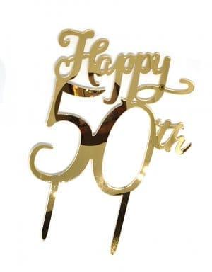 יום הולדת 50 טופר זהב