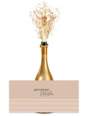 מיתוג בוהו שיק | מדבקות לבקבוקים ואגרטלים | אינדיאנה