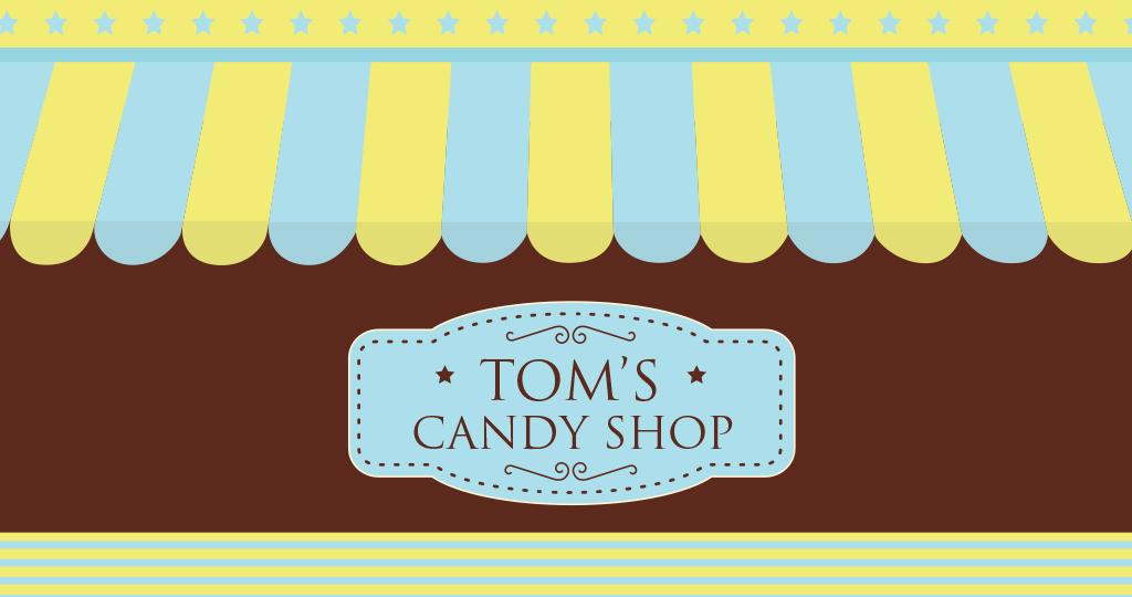 יום הולדת בעיצוב חנות ממתקים