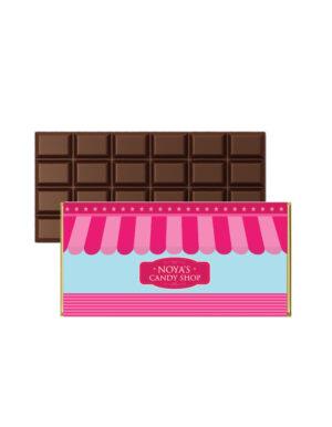 עטיפות ממותגות לשוקולד לימי הולדת לילדים