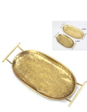 מגש סופר יוקרתי בצבע זהב, בגודל ענק