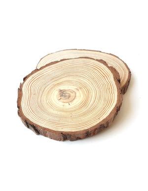 זוג פלטות עץ | מרכז שולחן | S