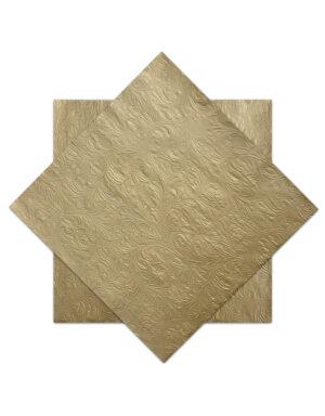 מפיות דינר בצבע זהב לאירוח