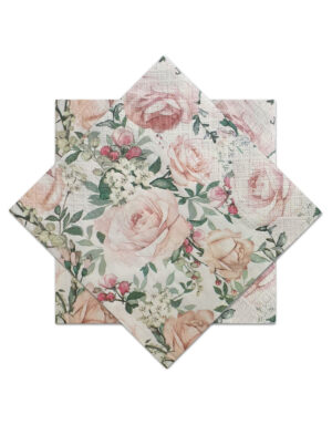 מפיות פרחים בעיצוב בוהו שיק